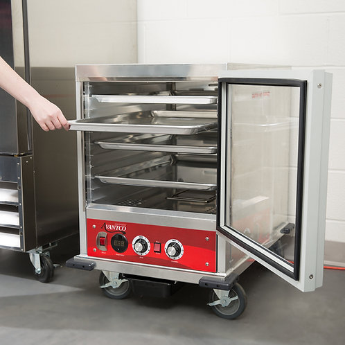 Undercounter half size insulated heated holding proofer cabinet