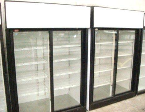 QBD - 2 DOOR GLASS FRONT DISPLAY REFRIGERATOR