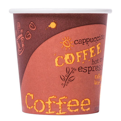 Paper Hot Cup with Coffee Design - 1000 / Case