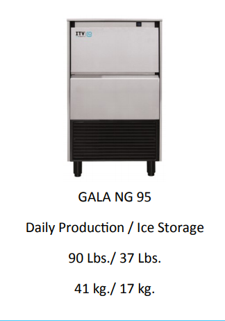 GALA NG95A UNDER COUNTER  ICE MACHINE