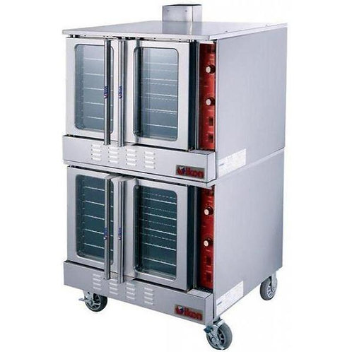 Electric Double Convection Oven - 208V, Fits 10 Full Size Sheet Pans