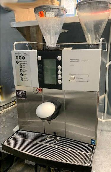 FRANKE ALL IN ONE COFFEE MACHINE - SINFONIAMS - - REFURBISHED