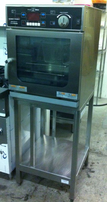 Henny Penny 3 pan combi oven with stand