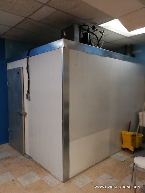 "Walk in refrigerator 10' 4"" x 8'x 88"" high"