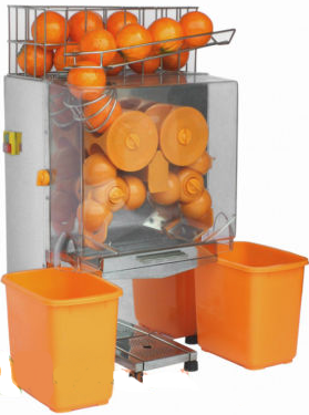 Auto Commercial Orange Squeezer Juicer Machine - 22 per minute - FREE SHIPPING
