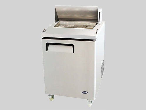 "27"" REFRIGERATED SANDWICH PREP TABLE"