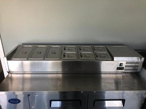 Countertop food cooler