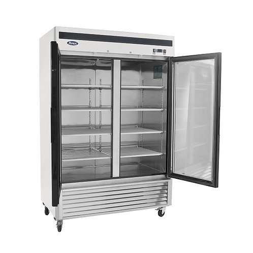 2 GLASS DOOR UPRIGHT DISPLAY REFRIGERATOR