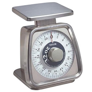 TAYLOR 32 oz. MECHANICAL PORTION CONTROL SCALE - NSF
