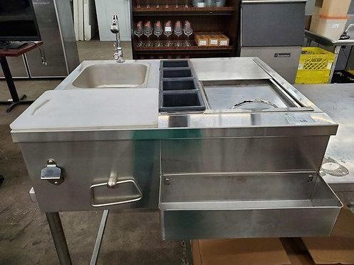 Bar sink- jockey station -