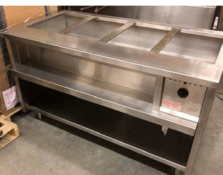 Quest hot food table -