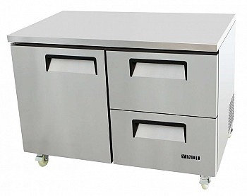 SINGLE DOOR DRAWER-UNDERCOUNTER FREEZER