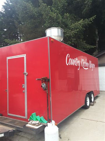 20' X 8'  DELUXE CONCESSION TRAILER - READY TO ROLL