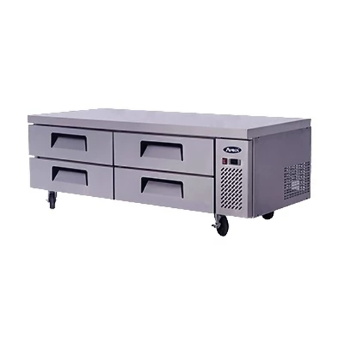 """Chef Base: 72-in Chef Base 27""""H w/5-in Casters"""