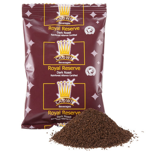 Crown Beverages Royal Reserve Guatemalan Dark Roast - (24) 3 oz. Coffee Packets