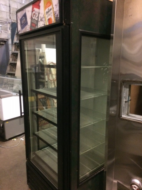 TRUE GLASS DOOR AND SIDES DISPLAY REFRIGERATOR