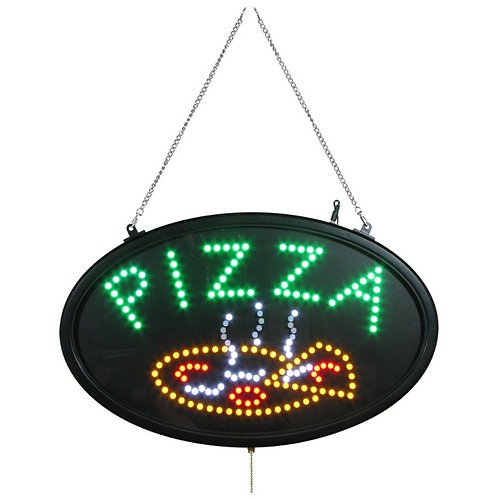 "LED Pizza Sign - 22"" x 14"""