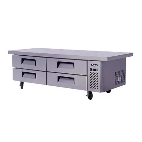 """Chef Base: 76-in Chef Base 27""""H w/5-in Casters MGF8454 (72-In Cabinet)"""