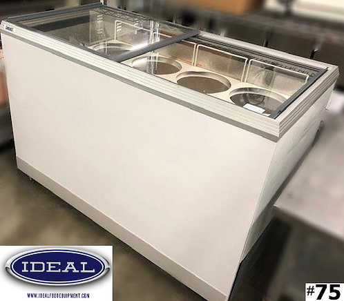 Caravell Ice Cream Dipping Cabinet - 8 flavor