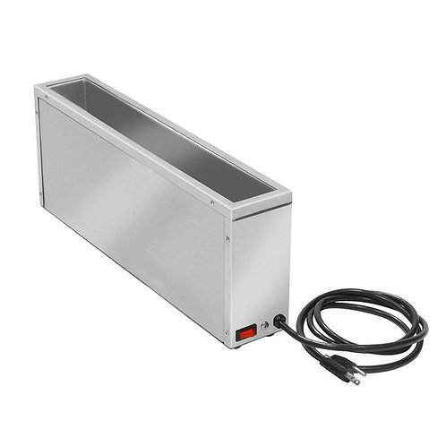 APW Wyott SBW-120 Side Mount Hot Dog Bun Warmer - Holds 12 Buns, 120V