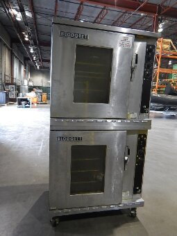 DOUBLE STACKING BLODGETT CONVECTION OVENS