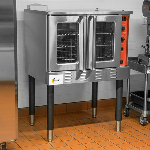 GAS FULL SIZE CONVECTION OVEN - NATURAL OR PROPANE GAS