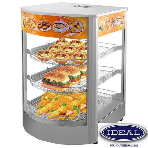 Hot food display cabinet - great impulse sales