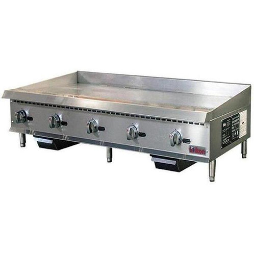 """Natural Gas/Propane 60"""" Thermostatic Griddle"""