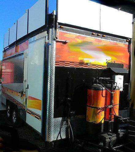 "21"" Wells Cargo Concession trailer"