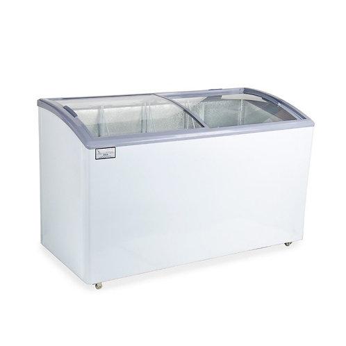 Glass slide top  Curved Lid Display Freezer - 8.8 Cu. Ft.