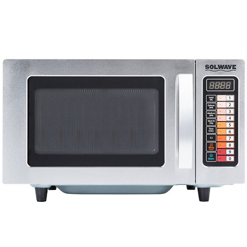 SOLOWAVE MICROWAVE OVEN 1000 WATTS - 10 PUSH BUTTONGS