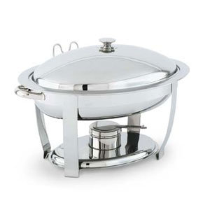 VOLLRATH 4 QT. ORION LIFT-OFF SMALL OVAL CHAFER