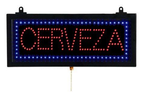 Cerveza Beer LED Sign