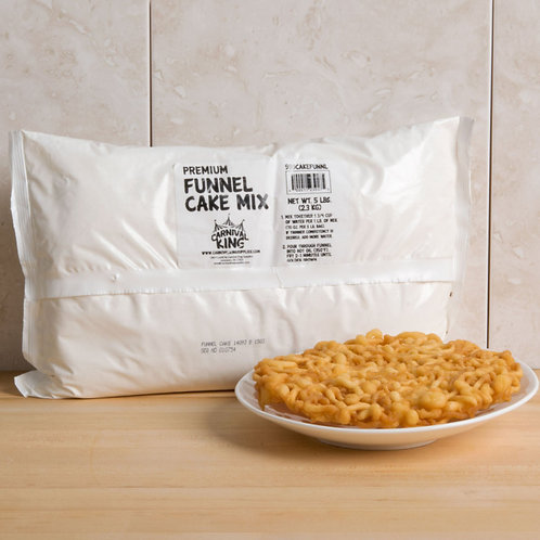 5 lb. Funnel Cake Mix 6 / Case