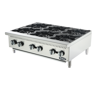 6 BURNER GAS BURNERS - HEAVY DUTY