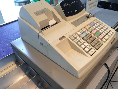 TEC ELECTRONIC CASH REGISTERS  - 2 AVAILABLE - NEAR NEW