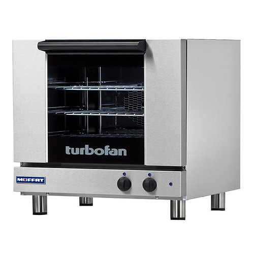 Half Size Electric Convection Oven, Deluxe, 3 Pan Capacity