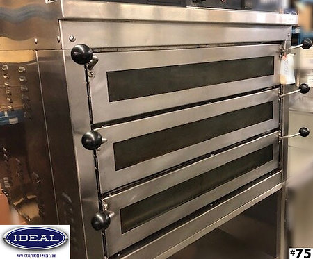 DOYON  PIZZA OVEN 3 DOOR WITH STAND 4 WIRE