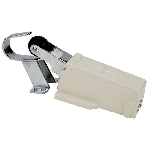 "Hydraulic Door Closer with 1 1/8"" Offset"