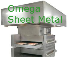 Pizza Oven Exhaust Hood System Ventilation Vent 8' X 60