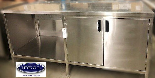 "72"" WORK COUNTER - stainless steel"