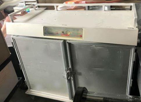 Mobile hot food cart