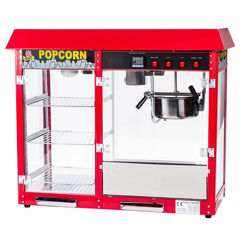 8 oz. Popcorn Popper with Warming / Holding Merchandiser