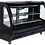 Thumbnail: 56.6 CURVED GLASS DELI PASTRY CASE -black, white or stainless finish