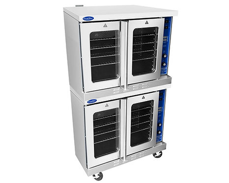 Gas convection ovens - double stacked