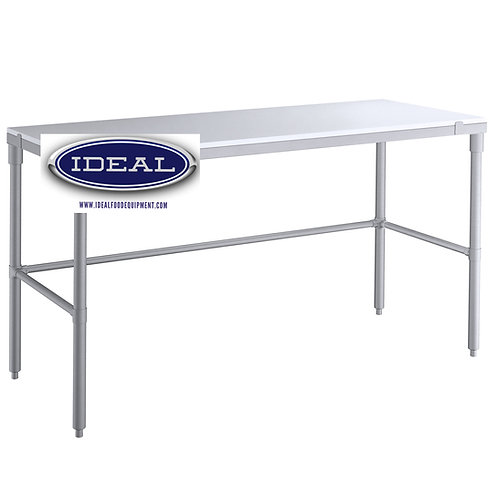 "Poly work top tables - 24"" & 30"" wide models"