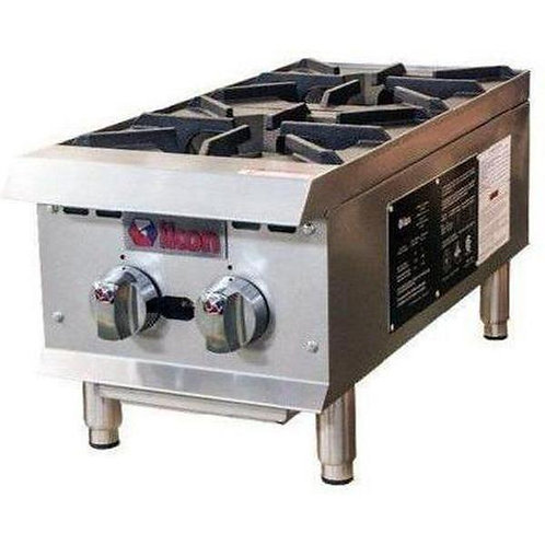 "12"" - 2 burner counter top - gas or propane"