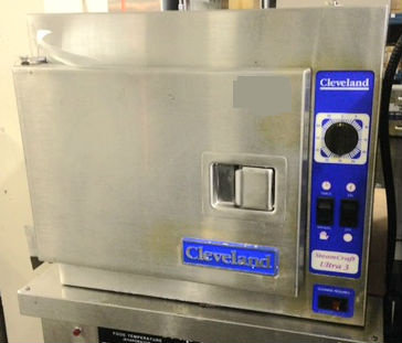CLEVELAND COUNTER TOP STEAMER