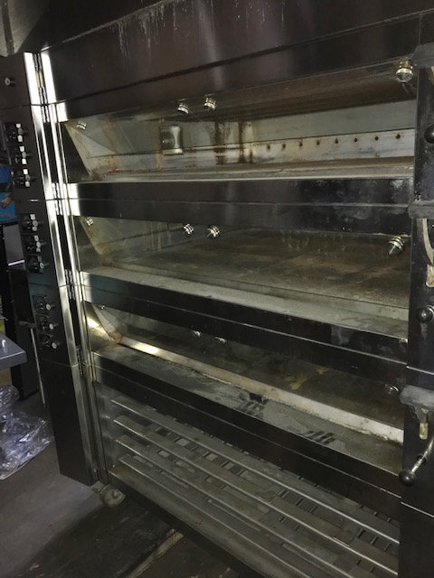 Wachtel Piccolo 3 Deck Electric Oven - WITH STEAM
