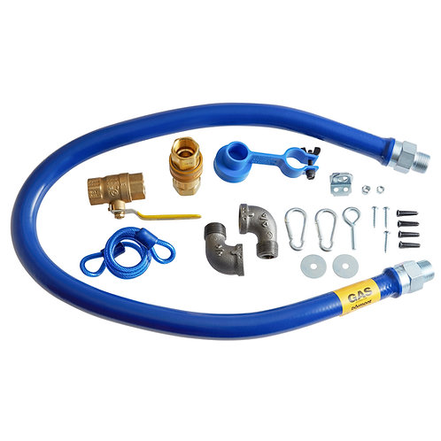 "48"" NATURAL GAS HOSE KITS - WITH EARTHQUAKE TETHER"